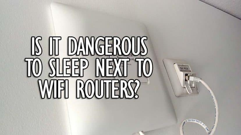 sleep next to wifi dangerous