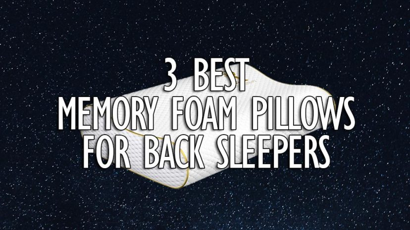 best memory foam pillows for back sleepers