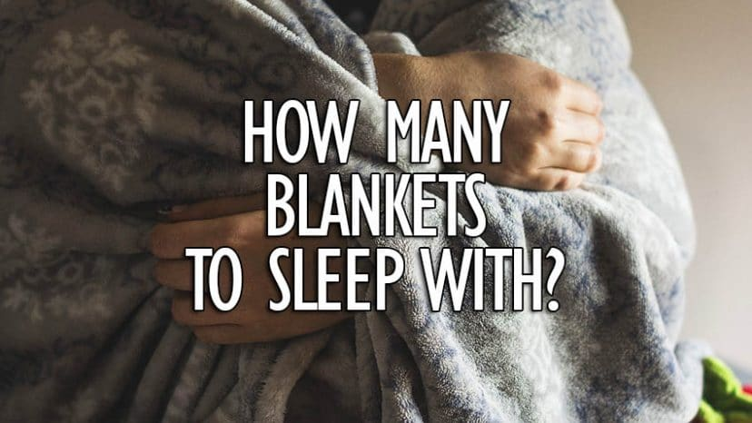 how many blankets should you sleep with?