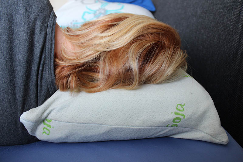 your pillowcase material can damage your hair