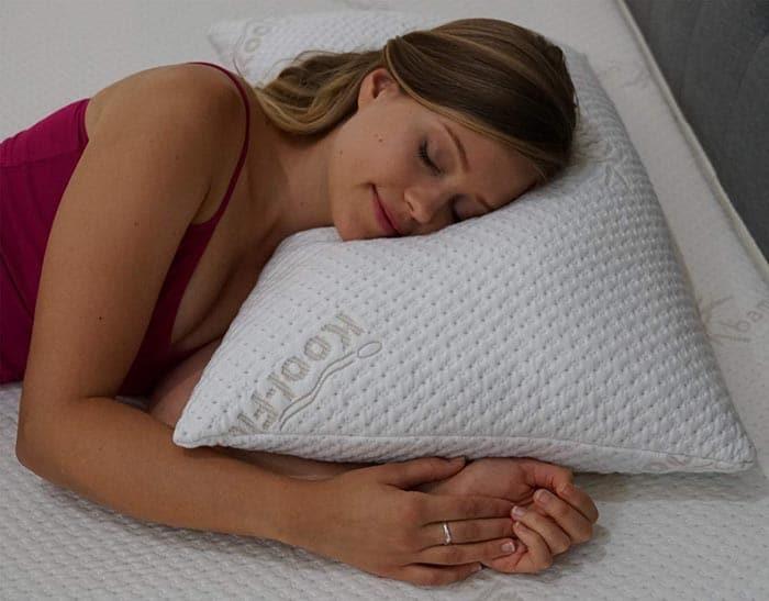 shredded soft memory foam pillow